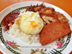 Nasi Lemak @ Taman Jurong Food Center