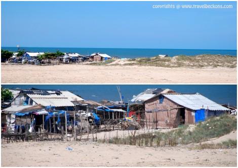 Locals' shack