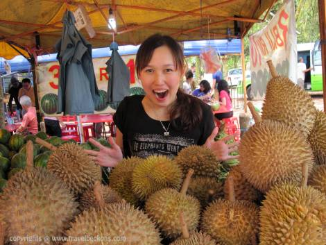 Wow Durian, Tangkak, Johor