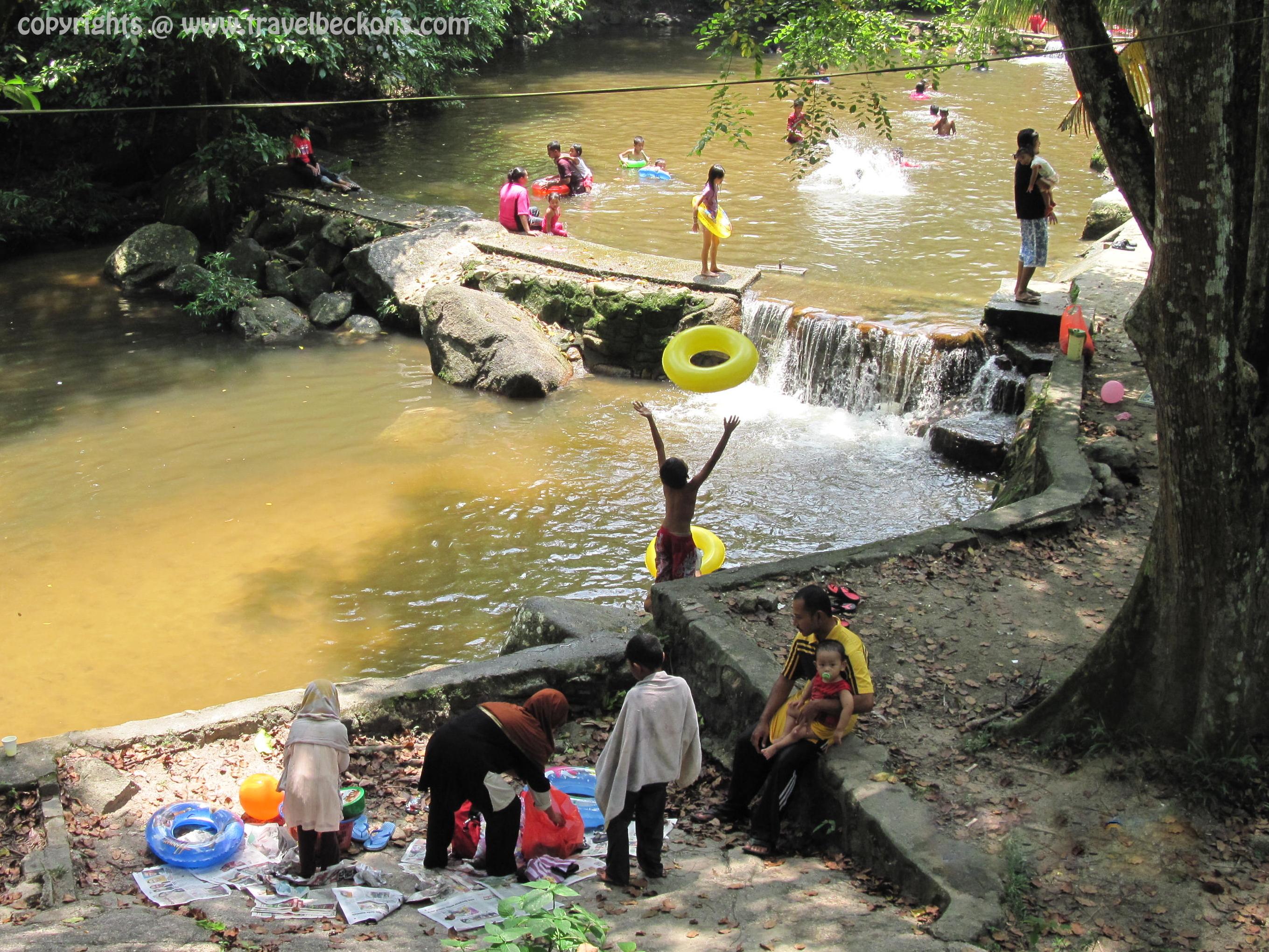 Waterfall Malaysia Johor Ledang Waterfall Johor