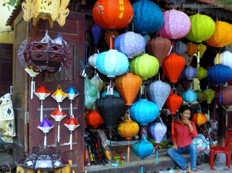 Shop for Lights, Hoi An