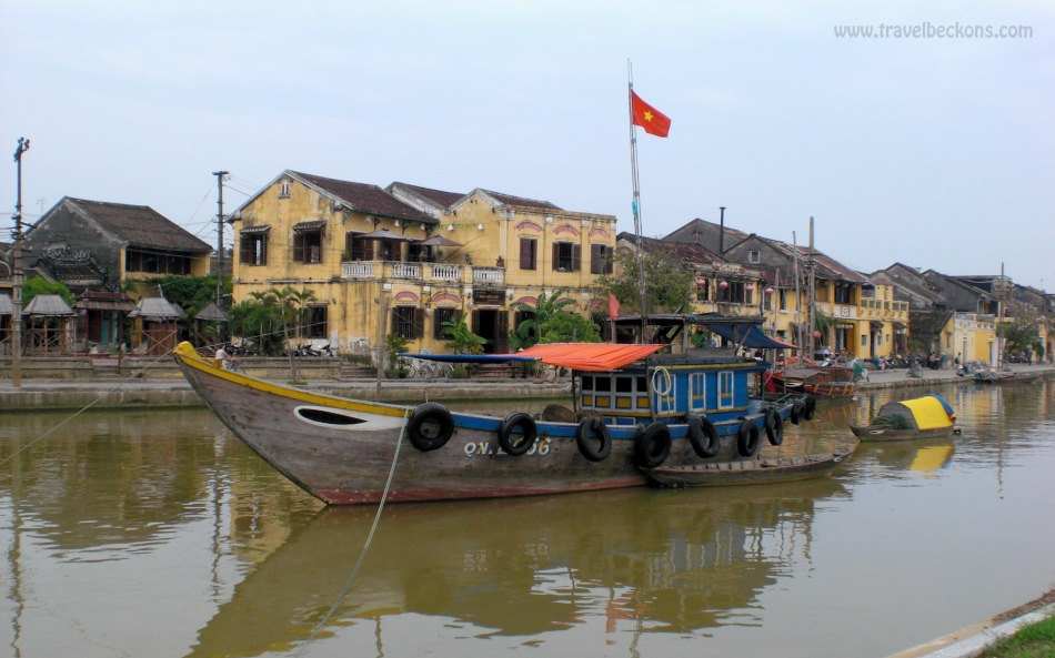 By the river Hoi An