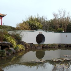 Chinese Scholars Garden | Generally but not exactly a traditional Chinese garden from the Sung Dynasty, 10th - 12th century.
