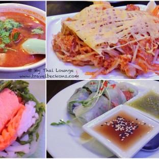 Yummy dinner @ My Thai Lounge (www.mythai.co.nz)