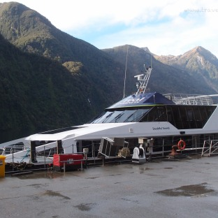 Our Cruise for the Doubtful Sound journey!
