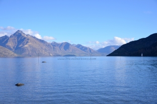 A view of Lake Wakatipu