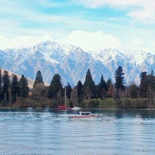 Jetboat on Lake Wakatipu