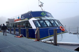 Ferry for Lake Manapouri
