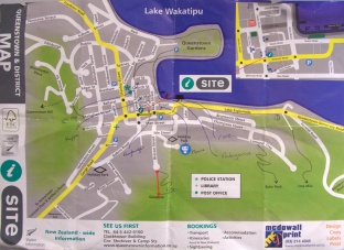An I-Site map that serves its purpose well.