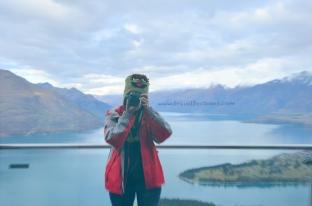 Lake Wakatipu as my backdrop