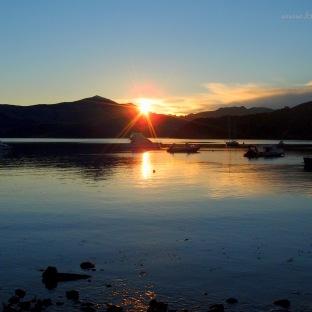 Sunset at Akaroa
