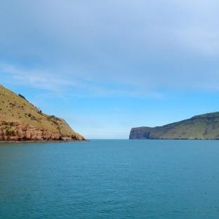 Sailing towards the Pacific Ocean!