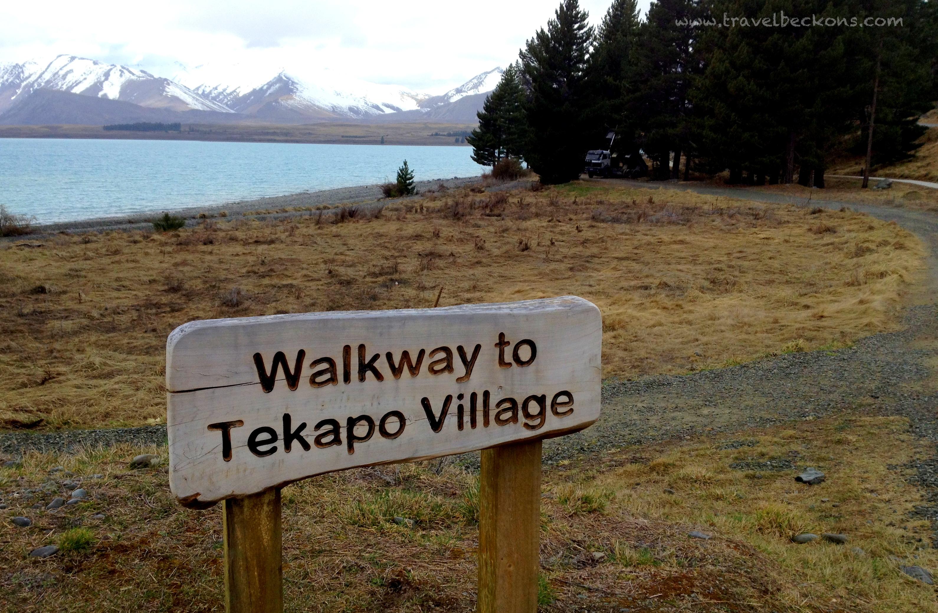 how to get to lake tekapo