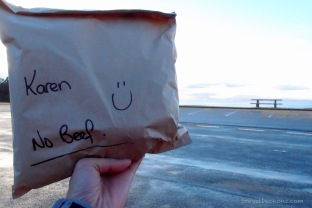 Pre-packed lunch - Love the :)