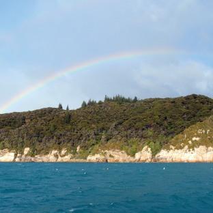 Beautiful twin rainbows