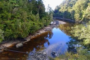 Beautiful stream and reflection.