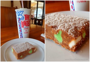 Sweets at Pancake Rocks' Cafe