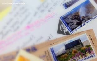 Sending postcards to loved ones~