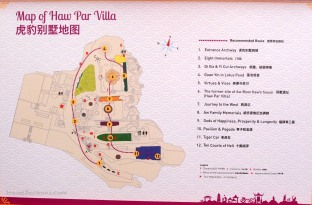 Map of Haw Par Villa