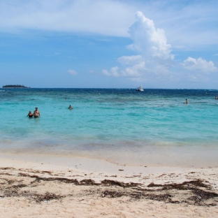 San Andres - caribbean coast of Colombia