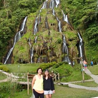 Waterfalls and hot springs in Santa Rosa