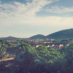 Window view from Vistana Kuantan City Center